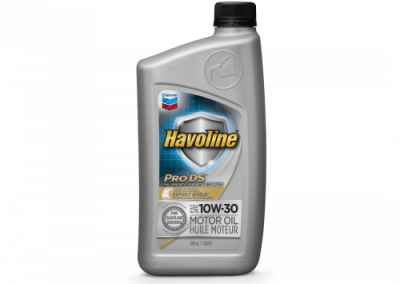 223505 Chris Page & Associates Chevron Havoline ProDS Full Synthetic Syn Motor Oil 10W-30 10W30 10W 30 Passenger Car Engine Oil