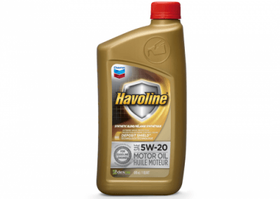 223700 Chris Page & Associates Chevron Havoline Syn-Blend Syn Synthetic Blend Motor Oil 5W-20 5W20 5W 20 Passenger Car Engine Oil