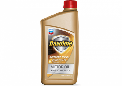 223703 Chris Page & Associates Chevron Havoline Syn-Blend Syn Synthetic Blend Motor Oil 0W-20 0W20 0W 20 Passenger Car Engine Oil