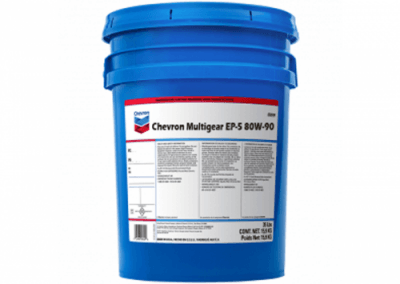 223022 Chris Page & Associates Chevron Delo Gear Oil ESI 80W-90 80W90 80 90