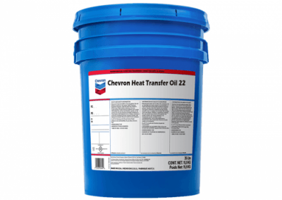 231706 Chris Page & Associates Chevron Heat Transfer Oil 22 Industrial oil forced circulation oils