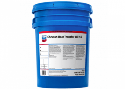 231709 Chris Page & Associates Chevron Heat Transfer Oil 46 Industrial oil forced circulation oils