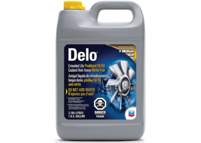 Chris Page & Associates Chevron Delo ELC Premixed 50/50 Nitrate-Free Nitrate Free Extended Life Coolant Antifreeze