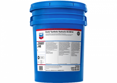 255697 Chris Page & Associates Chevron Clarity Synthetic Hydraulic Oil AW 32 Hydraulic Oils AW mobile stationary environmentally sensitive hydraulic vane piston gear