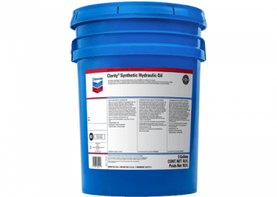 255699 Chris Page & Associates Chevron Clarity Synthetic Hydraulic Oil AW 68 Hydraulic Oils AW mobile stationary environmentally sensitive hydraulic vane piston gear
