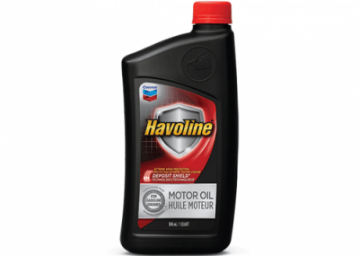 223396 Chris Page & Associates Chevron Havoline Motor Oil 10W-40 1040 10W40 10W 40 Passenger Car Engine Oil