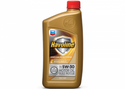 223701 223728 Chris Page & Associates Chevron Havoline Syn-Blend Syn Synthetic Blend Motor Oil 5W-30 5W30 5W 30 Passenger Car Engine Oil