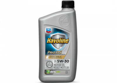223507 Chris Page & Associates Chevron Havoline ProDS Full Synthetic Syn Motor Oil 5W-30 5W30 5W 30 Passenger Car Engine Oil