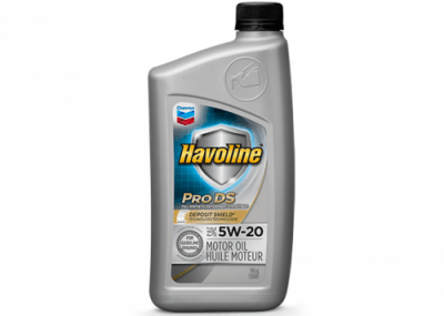 223727 Chris Page & Associates Chevron Havoline ProDS Full Synthetic Syn Motor Oil 5W-20 5W20 5W 20 Passenger Car Engine Oil