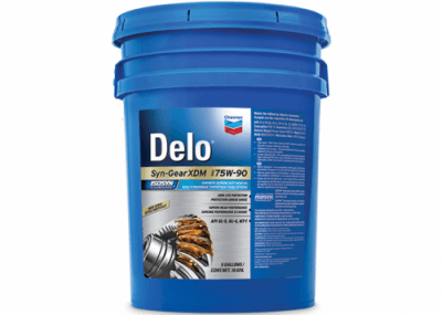 223030 Chris Page & Associates Chevron Delo Synthetic Syn Syn-Gear Gear Gears Oil Oils XDM 75W90 7590 75W-90 75 90