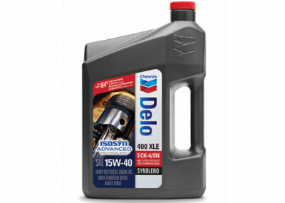 257004 Chris Page & Associates Chevron Delo 400 XLE 15W-40 15W40 15W 40 15-40 15 40 Synthetic Blend Syn-blend Heavy Duty Engine Oil Engine Oils