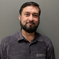 Juzer Presswala, Technical Sales Representative for Chris Page & Associates Western Canada's largest distributor of Chevron Lubricants operating out of Edmonton and Calgary Warehouses. Call for Free Quote on Heavy-Duty Oil, Glycol, HDAX, Natural Gas