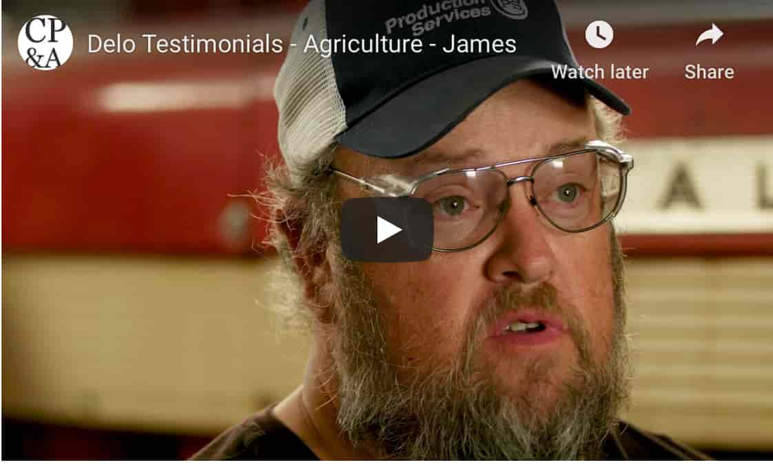 Delo Testimonials - Agriculture - James