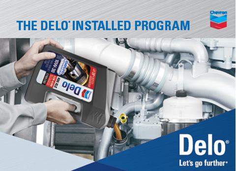Chris Page & Associates Chevron Delo Installed Program