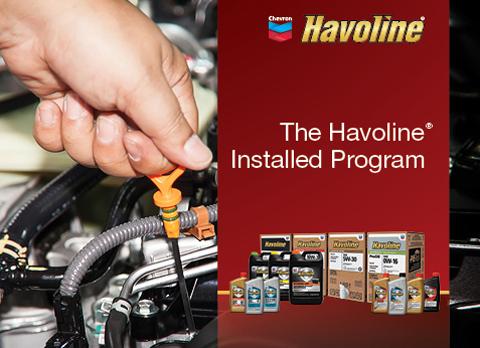 Chris Page & Associates Chevron Havoline Installed Program
